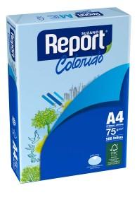 PAPEL REPORT COLORS AZUL A4 75 GRS 500 HJS