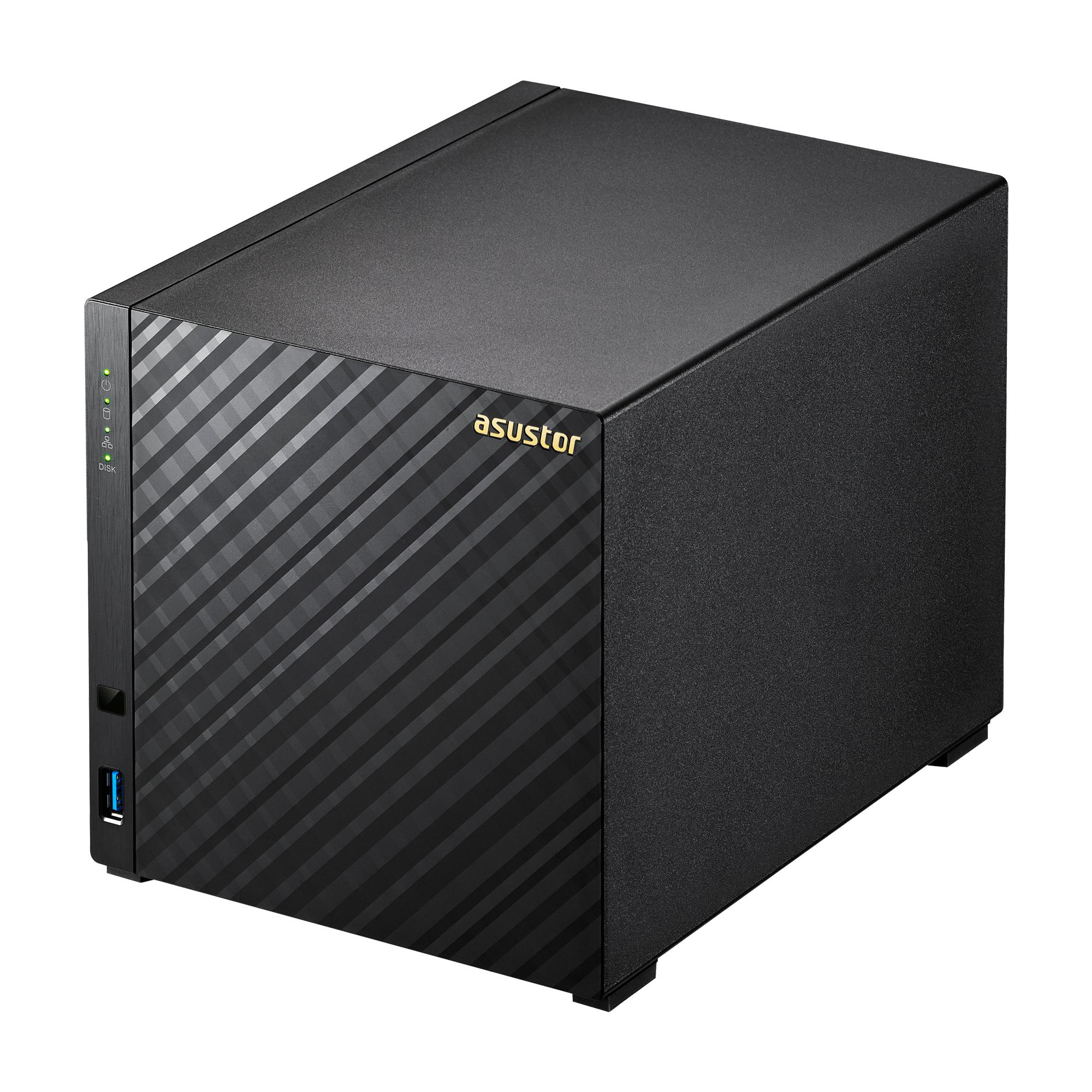 NAS ASUSTOR AS3104T 4BAY/INTEL DC/2GB RAM