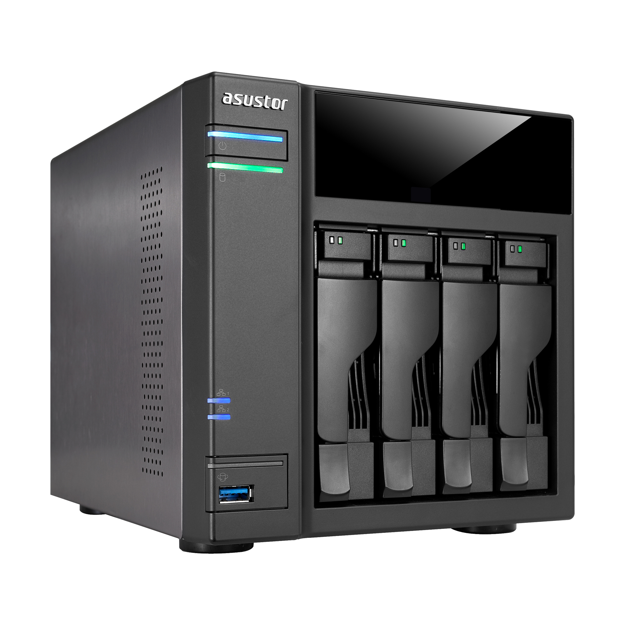 NAS ASUSTOR AS6104T 4BAY HS NAS/INTEL DC/2 GB RAM
