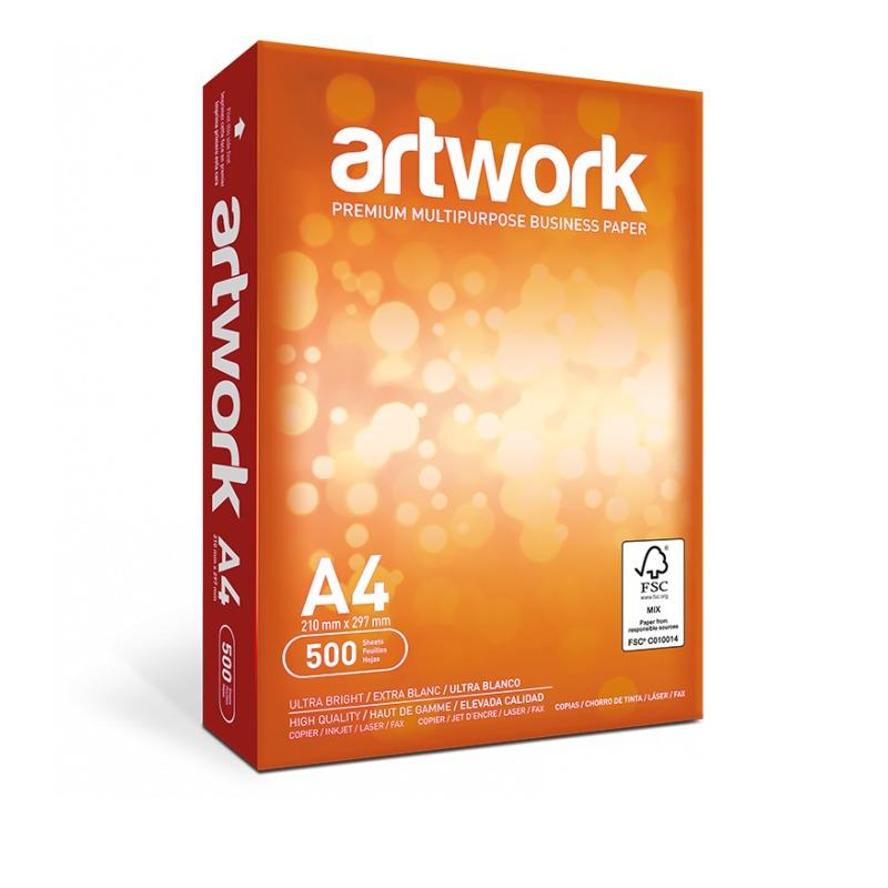 PAPEL FOTOCOPIA A4 ARTWORK 75GRS/500 HOJAS