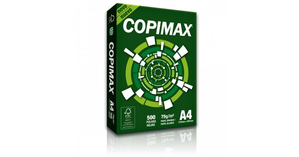 PAPEL FOTOCOPIA COPIMAX 75 GRS A4