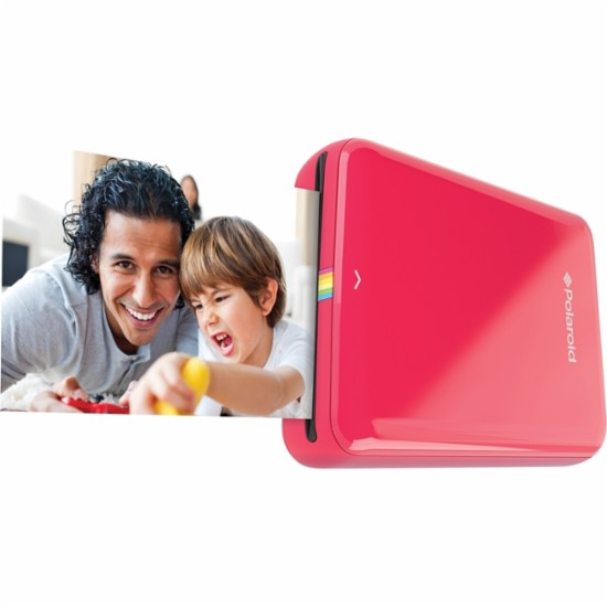 IMPRESORA POLAROID ZIP MOBILE PRINTER ROJO