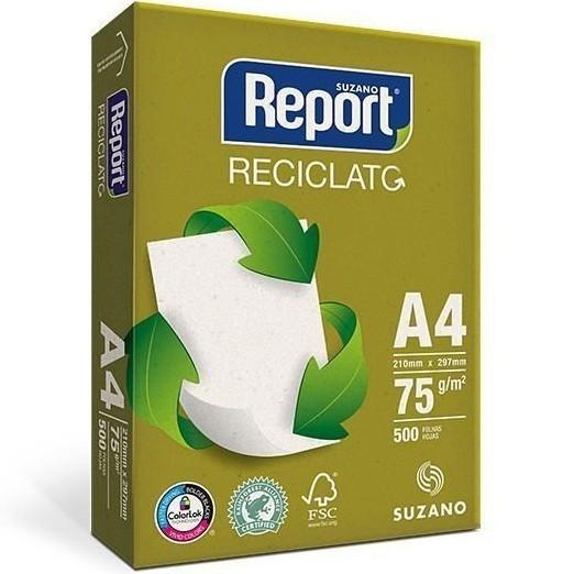 PAPEL REPORT RECICLATO A4 75 GRS 500 HJS