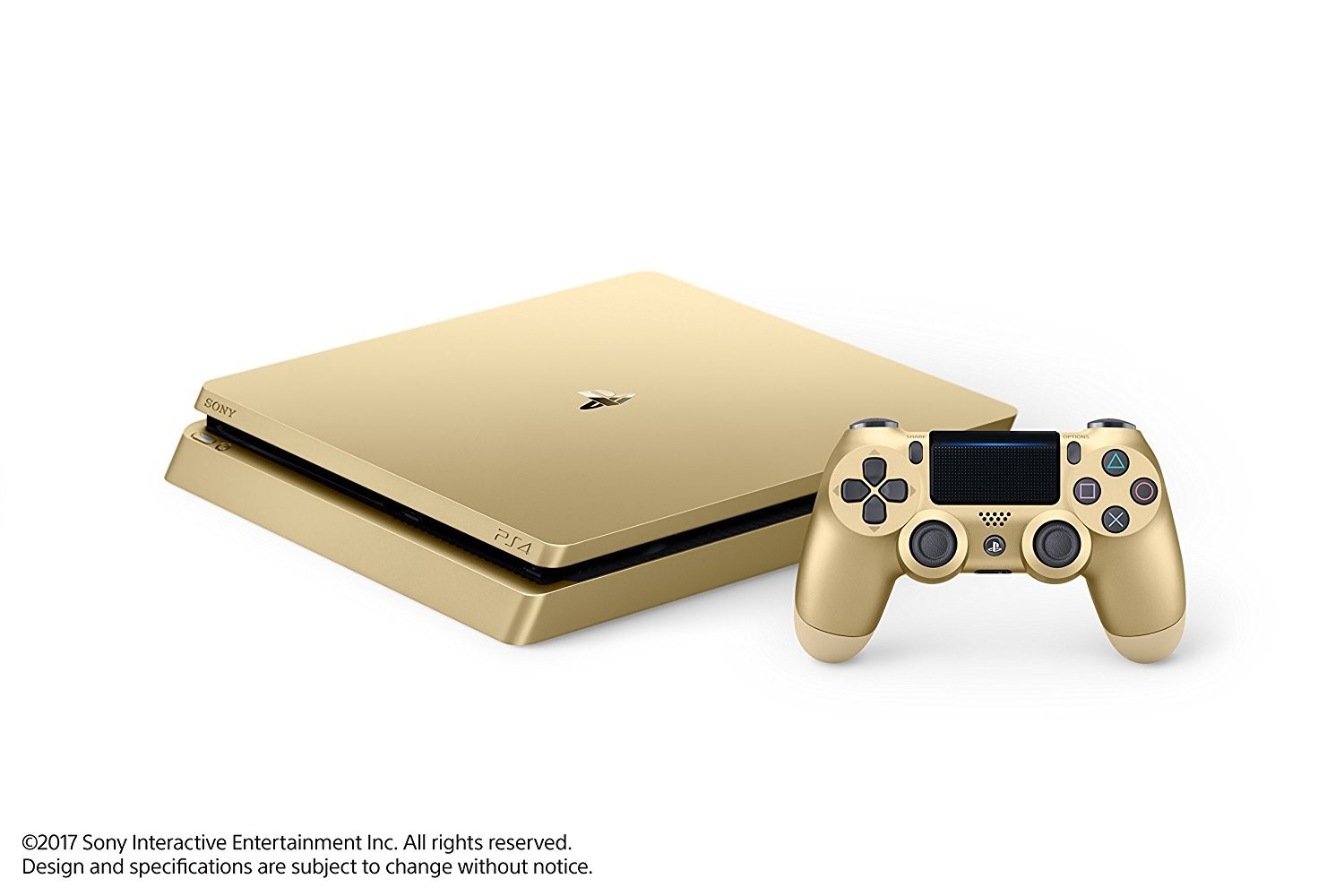 SONY PLAYSTATION 4 1TB LIMITED EDITION- GOLD