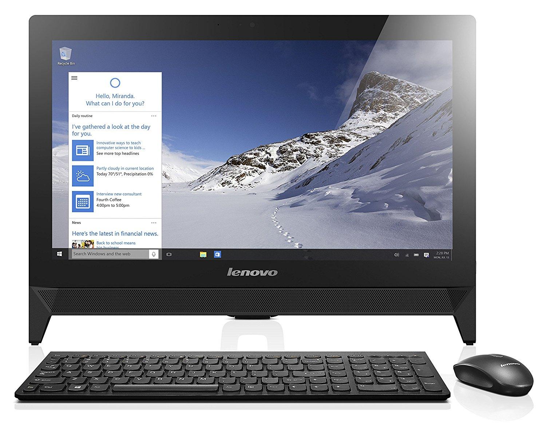 AIO LENOVO C20-00 N3050 4GB/1TB/19,5/WIN10/BLACK